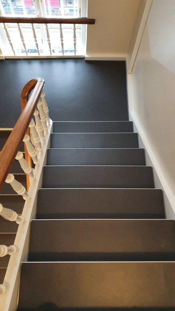 trappevask med Dahl